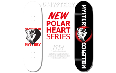 Millencolin/Mystery Skateboards collab.